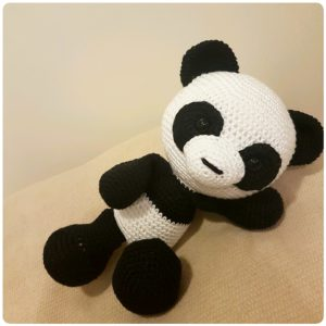 Panda em Amigurumi - Kit Amigurumi Círculo | 300x300
