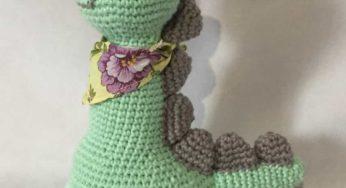 Bichinhos Amigurumi   Amigurumi de animais de crochê, Bichinhos de croche,  Dinossauro de crochê   188x346